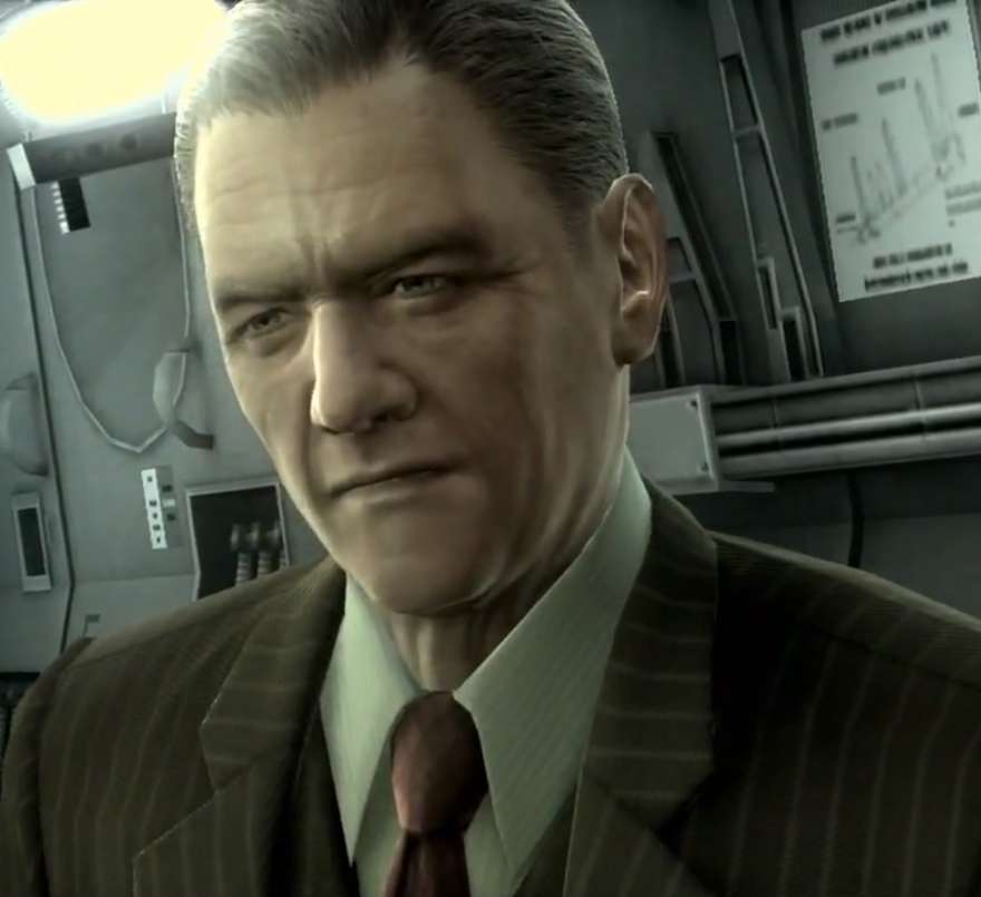 Roy Campbell metal gear