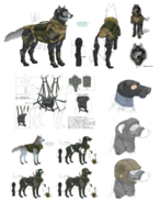 D Dog Concept 2