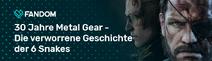 30 Jahre Metal Gear Blog Header