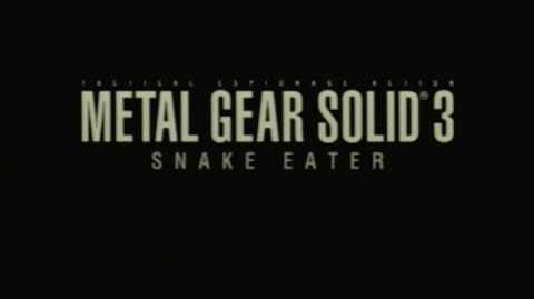 MGS3 Ocelot speaks to his true leader