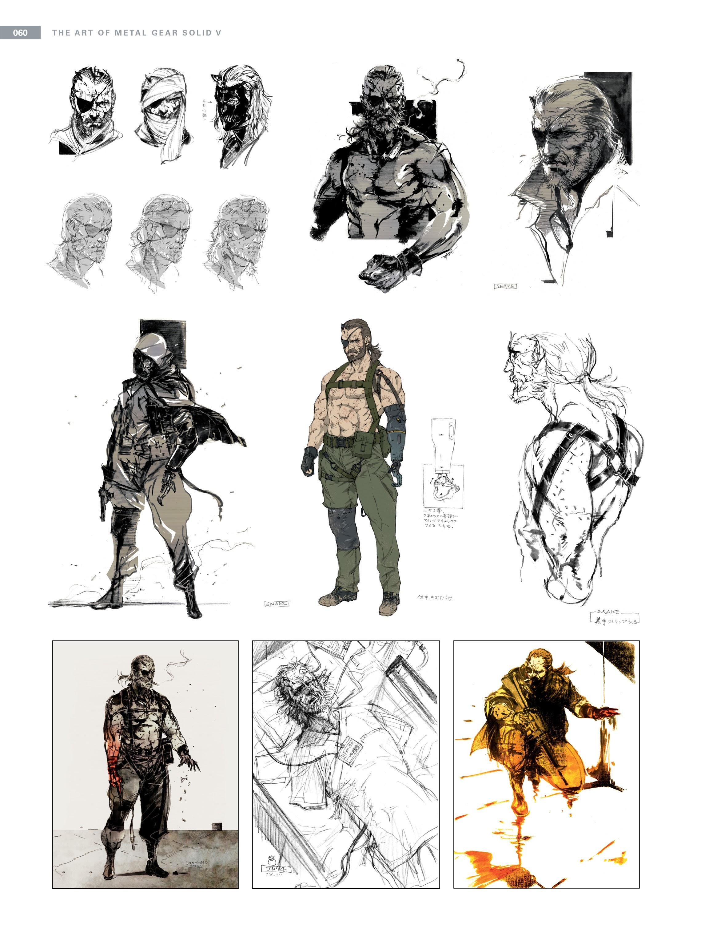 Venom Snake Metal Gear Wiki Fandom