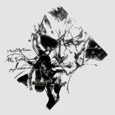File:Famitsu-PlayStation-20th-Anniversary-Big-Boss-by-Shinkawa.jpg