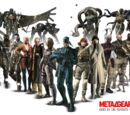 Character appearances in the Metal Gear series