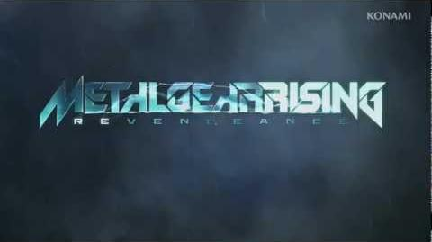 METAL GEAR RISING REVENGEANCE Best Buy White Armor Trailer