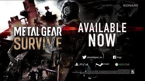 METAL GEAR SURVIVE Launch Trailer Konami (ESRB)