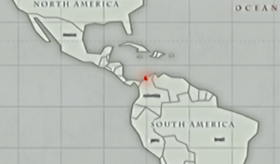 San Hieronymo Peninsula location