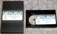 MGS E3 beta tape