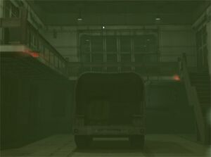 Nerve Gas in the Nuclear warhead storage building (Metal Gear Solid The Twin Snakes)