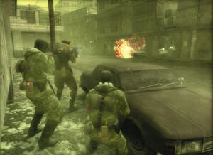 MGS3 Subsist Map B Town