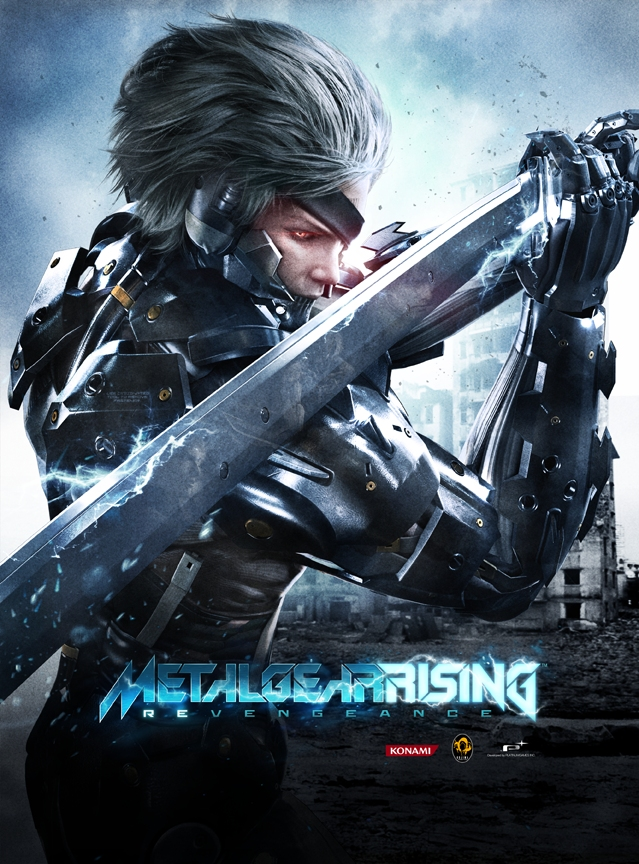 Image result for Metal Gear Rising Revengeance cover pc