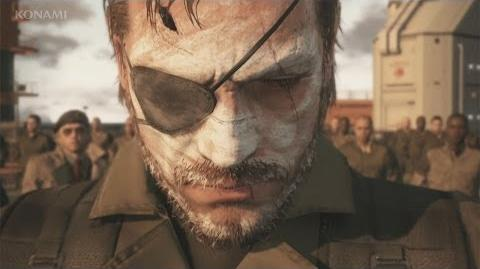 METAL GEAR SOLID V THE PHANTOM PAIN E3 2014 Trailer