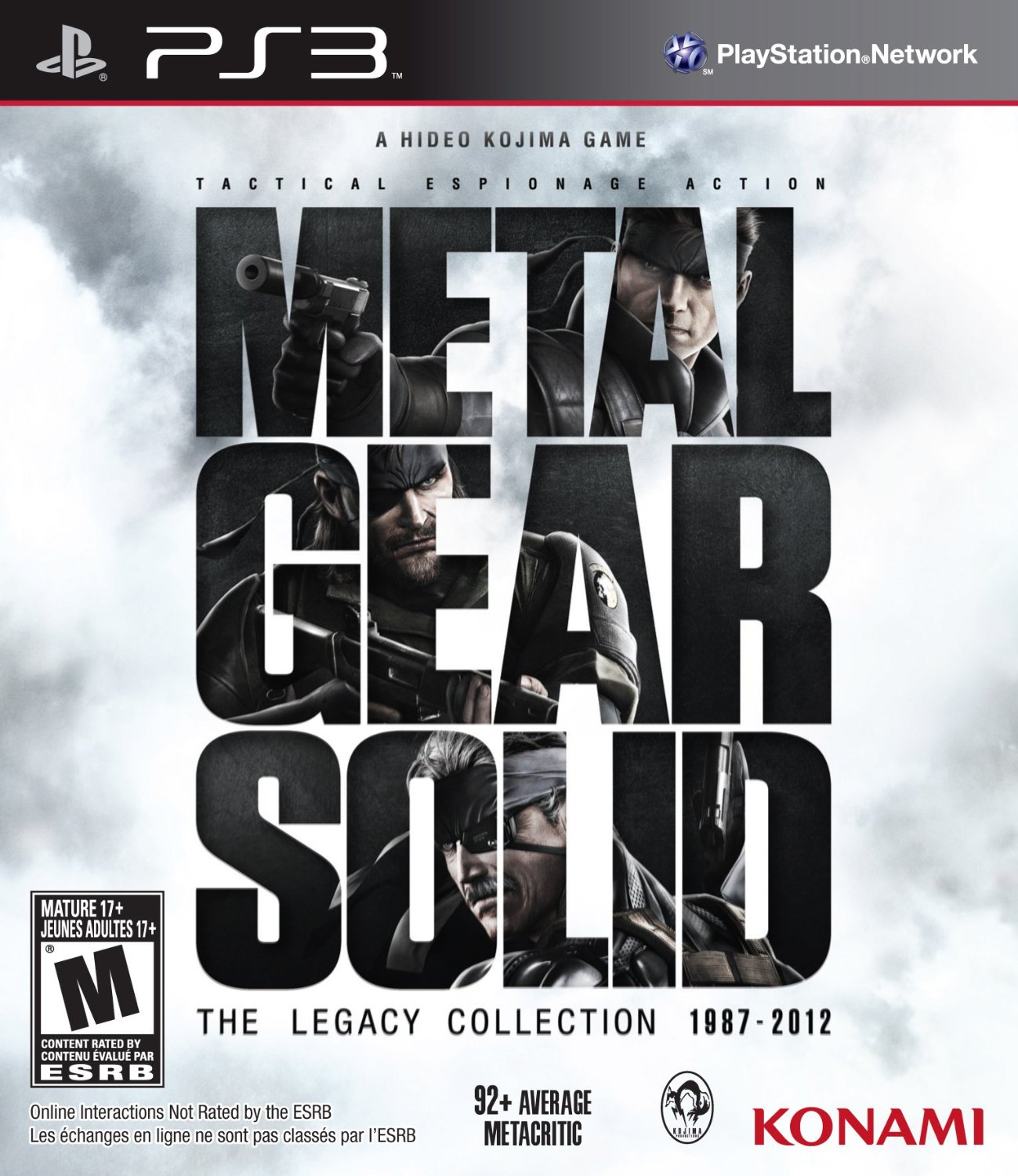 Metal Gear Solid: The Legacy Collection | Metal Gear Wiki