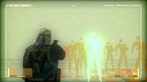 MGS4 Guns of the HIDECHAN Radio part18 All Guns Reload Animations