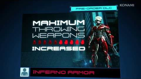 METAL GEAR RISING REVENGEANCE Amazon Inferno Armor Trailer