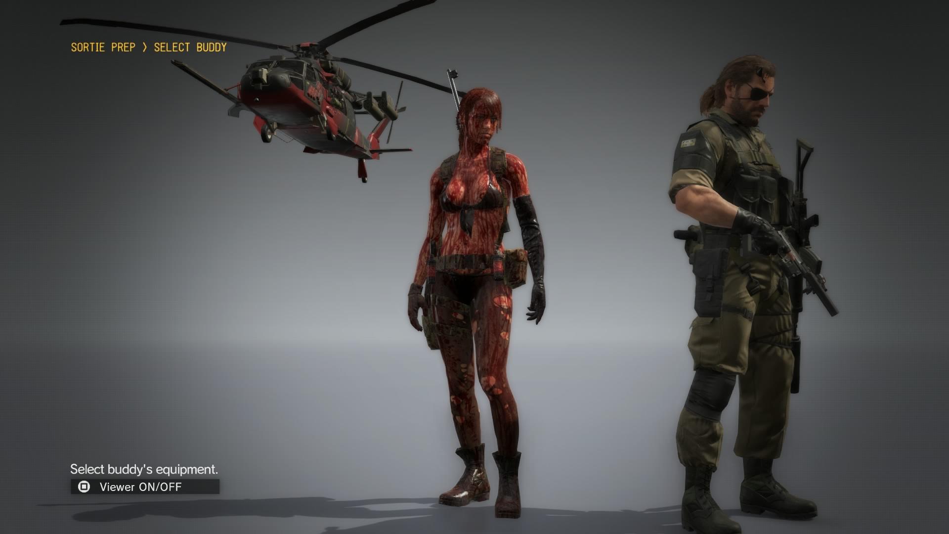 Image - Quiet Naked Blood.jpg | Metal Gear Wiki | FANDOM