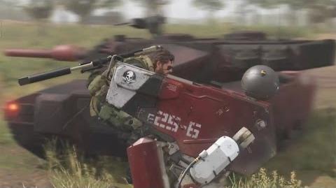 【公式】SIDE OPS 1 戦車隊戦編 - TGS2015 GAME PLAY DEMO (解説:スカルフェイス/CV:土師孝也) MGSV TPP (JP) CERO KONAMI