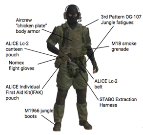 MSF Armored Gear