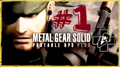 MGS - Portable Ops Plus Infinity Mission (Easy)