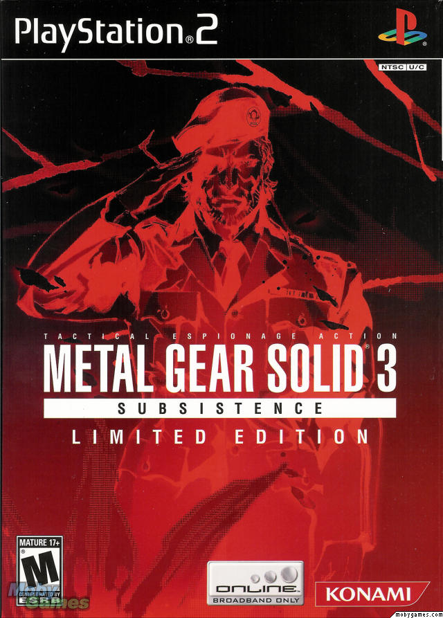 metal gear solid 3 ps2 iso