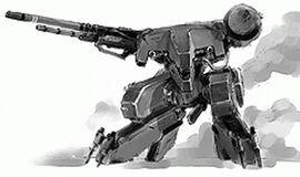 Vehicule Chinese HMG-R3 Metal Gear Rex
