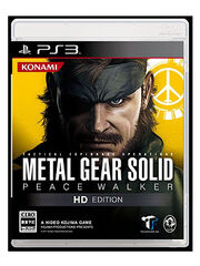 Metal Gear Solid Peace Walker HD Edition PS3 JP boxart