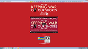 War on our Shores website
