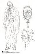 Elderly Johnny Sr concept art