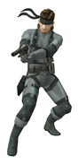 MGS2 Solid Snake