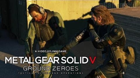 Metal Gear Solid 5 Ground Zeroes - ENGLISH PS4 Demo Walkthrough 1080p TRUE-HD QUALITY