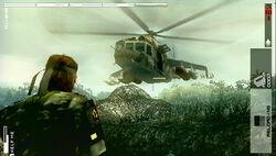 Combate Mi-24A