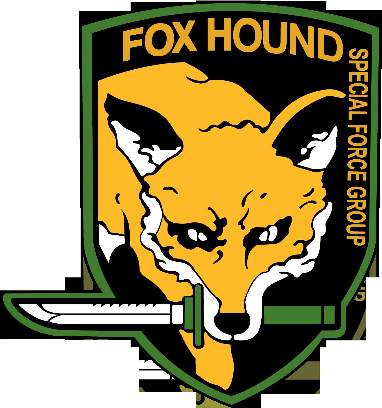 foxhound logo mgs