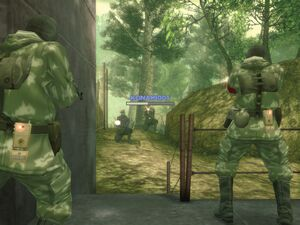 MGS3 Subsist Map L Forest