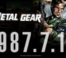 Metal Gear 30th Anniversary