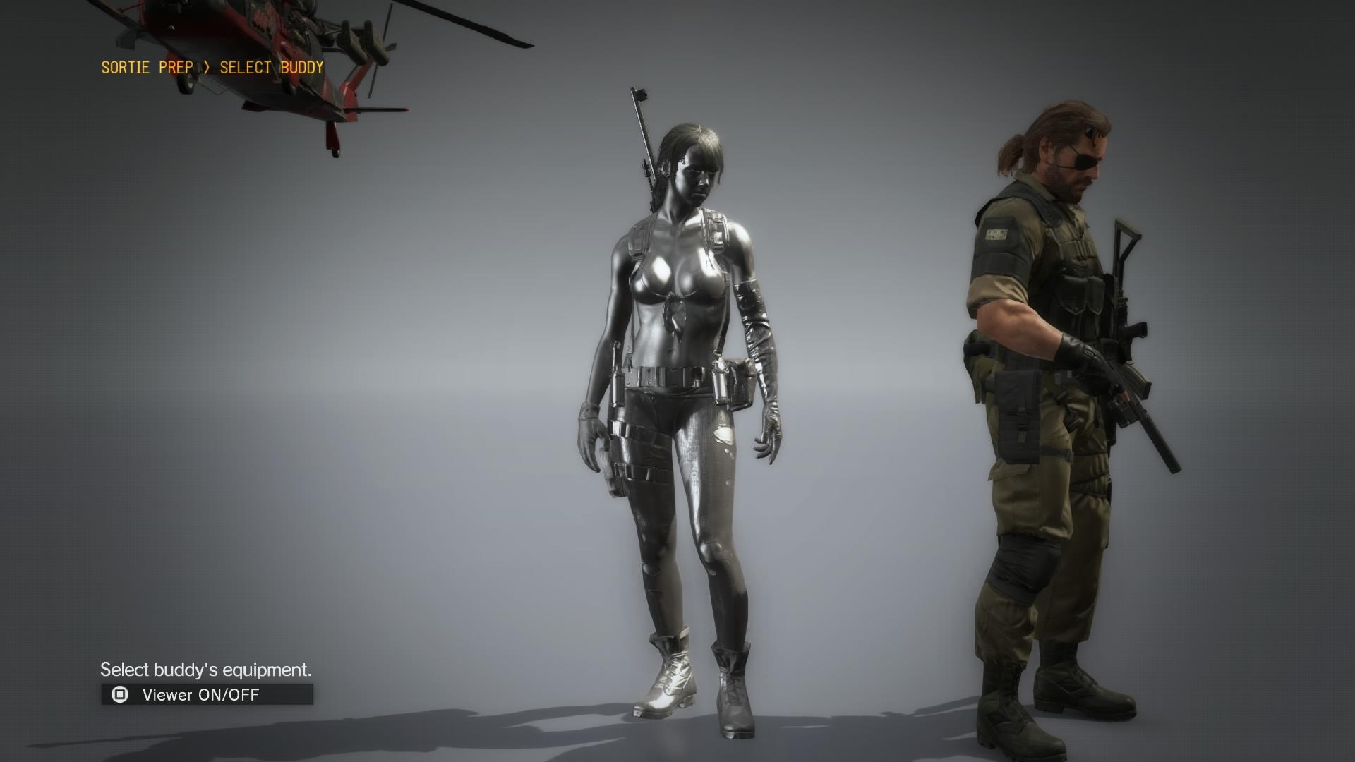 Image - Quiet Naked Silver.jpg | Metal Gear Wiki | FANDOM