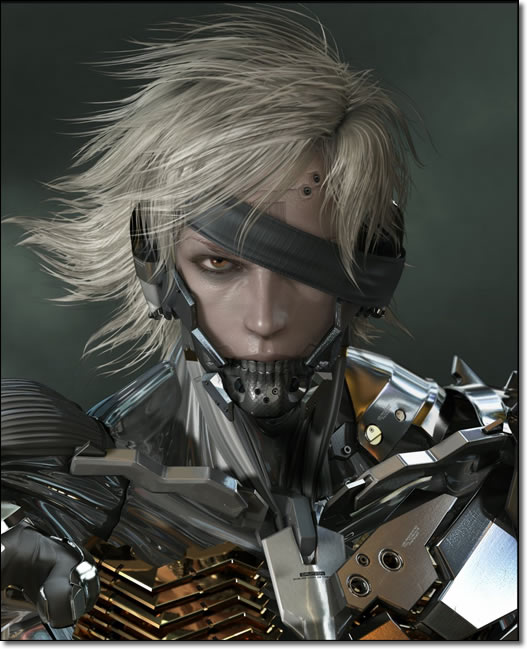 Raiden Rising Render