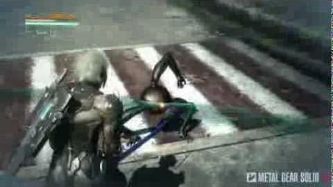 Metal Gear Rising Revengeance - Cut At Will on Dwarf Gekko MetalGearSolidTV.com