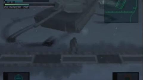 Metal Gear Solid - Vulcan Raven´s M1 Tank