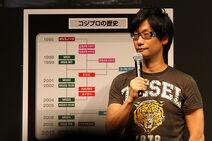 Hideo Kojima talks about company history