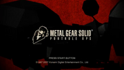 Metal Gear Solid- Portable Ops-title