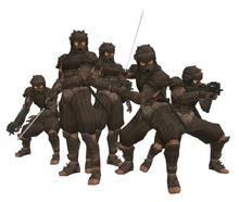 MGS2 Tengu Commandos