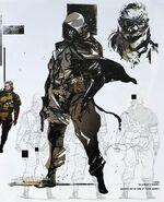 Venom Snake Artbook