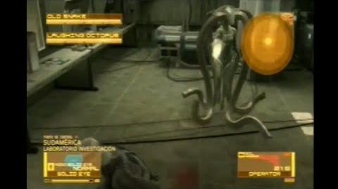 Metal Gear Solid 4 - Laughting Octopus