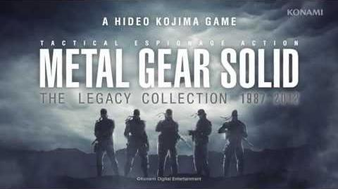 METAL GEAR SOLID THE LEGACY COLLECTION Trailer