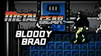 Metal Gear (PS3) - Bloody Brad Battle Gameplay Playthrough (Part 8)