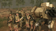Metal gear contracted forces of africa