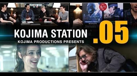 KOJIMA STATION (KojiSta) - Episode 05 THE LIVING ROOM with Robin Atkin Downes etc....