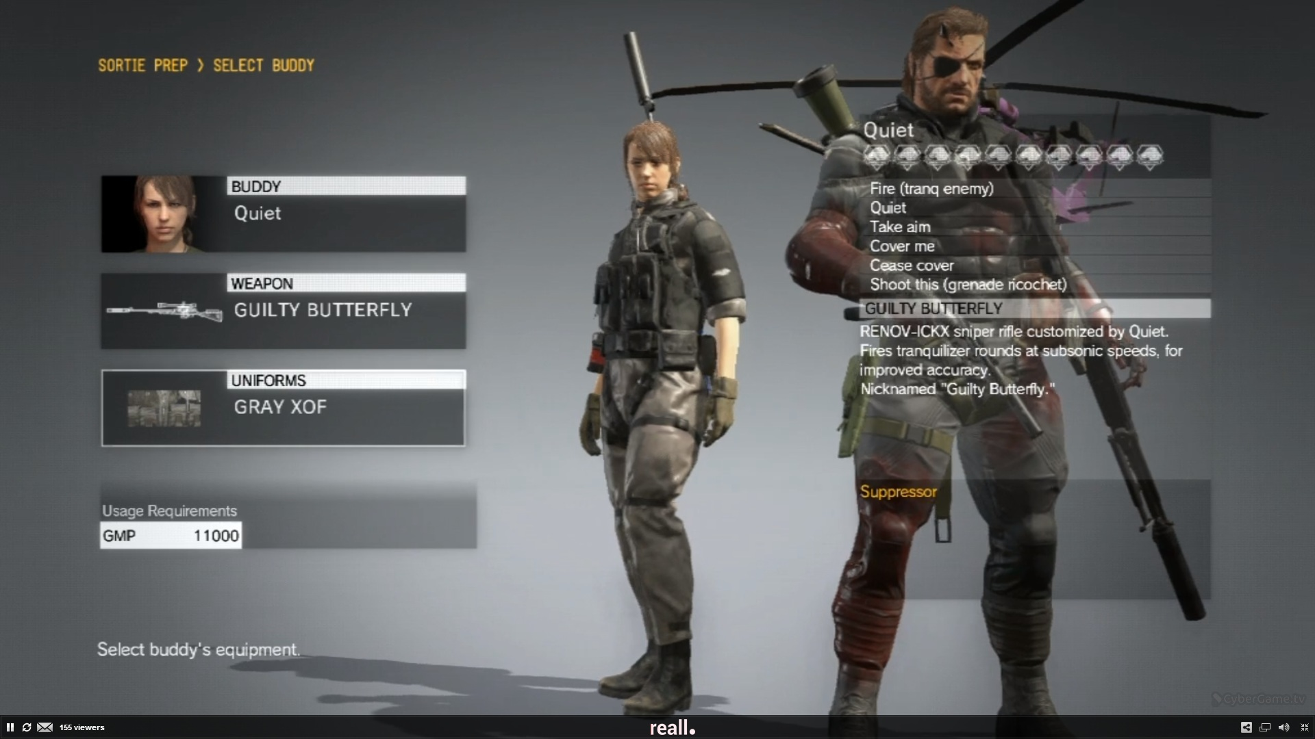 Surprise Metal Gear Solid 5 update lets you play as Quiet