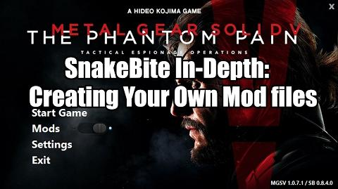 SnakeBite Mod Manager | Metal Gear Modding Wiki | FANDOM powered by