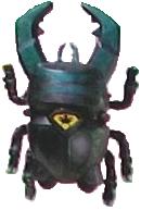 Kuwaga Titan-Boron Beetle form