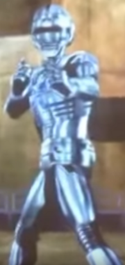 Space Sheriff Gavan Type G in Ganbaride